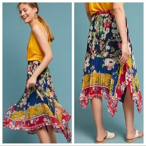 🆕NWT rare Leora Floral Skirt by Anthropologie